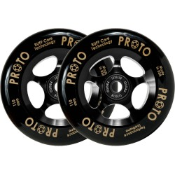 Rueda Proto Gripper Negra 110mm