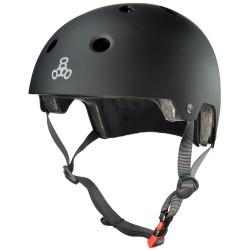 Casco Triple Eight Brainwaver - Black Rubber