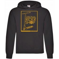 Sudadera Negra ScooterXtreme - Rider Logo