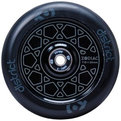 Rueda District Zodiac 110mm - Negro
