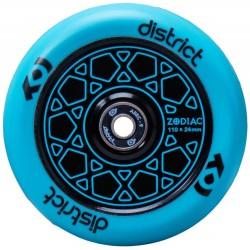 Rueda District Zodiac 110mm - Azul