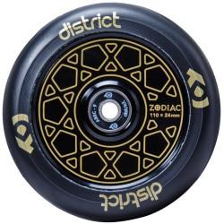 Rueda District Zodiac 110mm - Oro