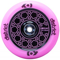 Rueda District Zodiac 110mm - Rosa