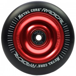 Rueda Metalcore Radical 110mm Goma Negra