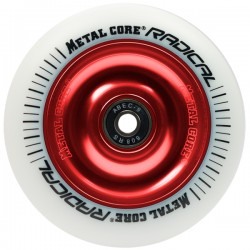 Rueda Metalcore Radical 110mm Goma Blanca