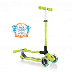 Patinete Globber Primo Foldable Lights Verde Lima