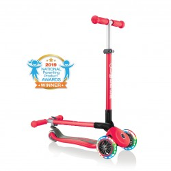 Patinete Globber Primo Foldable Lights Rojo