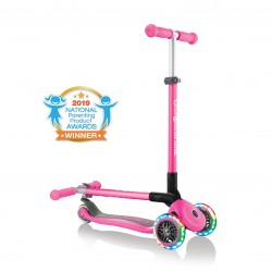 Patinete Globber Primo Foldable Lights Rosa